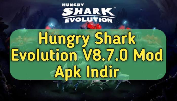 Hungry Shark Evolution V8.7.0 En Yeni Mod Apk Indir | ( Sınırsız Para )